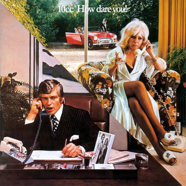 Original Cover Artwork of 10cc How Dare You