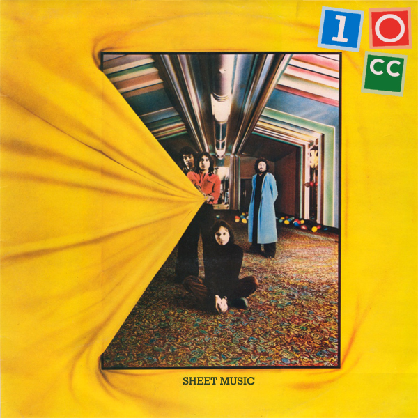 Original Cover Artwork of 10cc Sheet Music