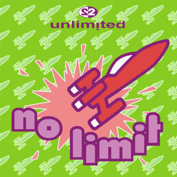 Original Cover Artwork of 2 Unlimited No Limit