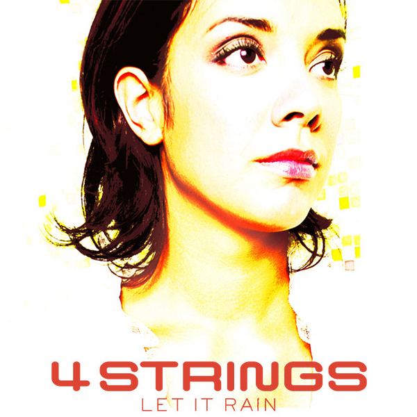 Original Cover Artwork of 4 Strings Let It Rain