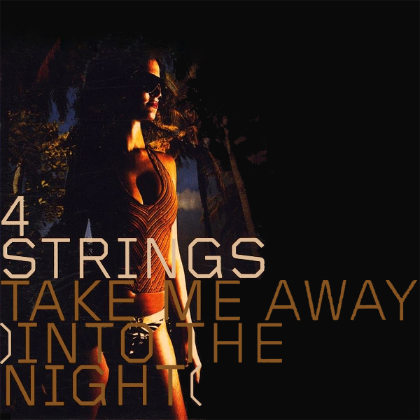 Original Cover Artwork of 4 Strings Take Me Away