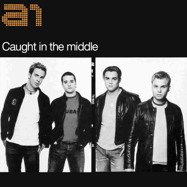 Original Cover Artwork of A1 Caught In The Middle
