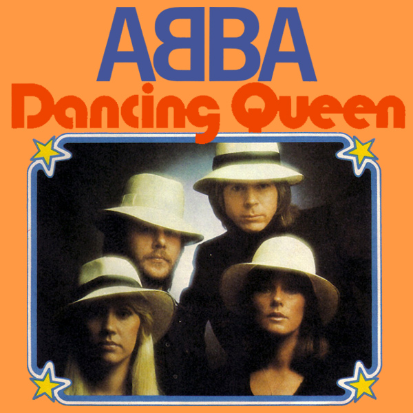 Original Cover Artwork of Abba Dancing Queen