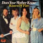 Original Cover Artwork of Abba Does Your Mother Know