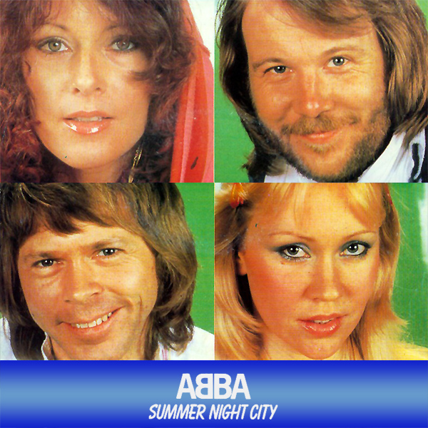Original Cover Artwork of Abba Summer Night City