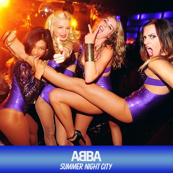 Cover Artwork Remix of Abba Summer Night City