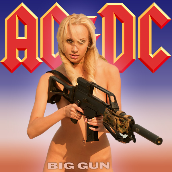 Cover Artwork Remix of Ac Dc Big Gun