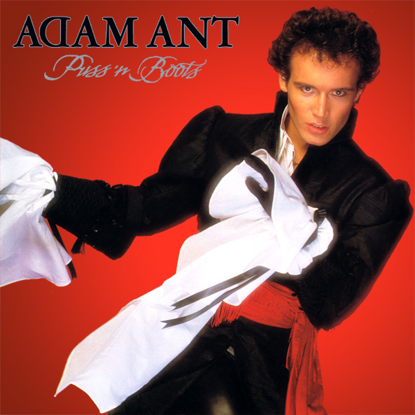 Original Cover Artwork of Adam Ant Puss N Boots