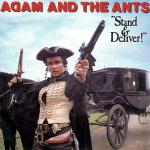 Original Cover Artwork of Adam Ants Stand Deliver