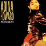 Original Cover Artwork of Adina Howard Freak Like Me