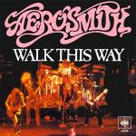 Original Cover Artwork of Aerosmith Walk This Way