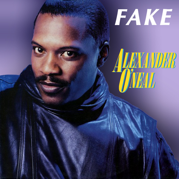 Original Cover Artwork of Alexander O Neal Fake