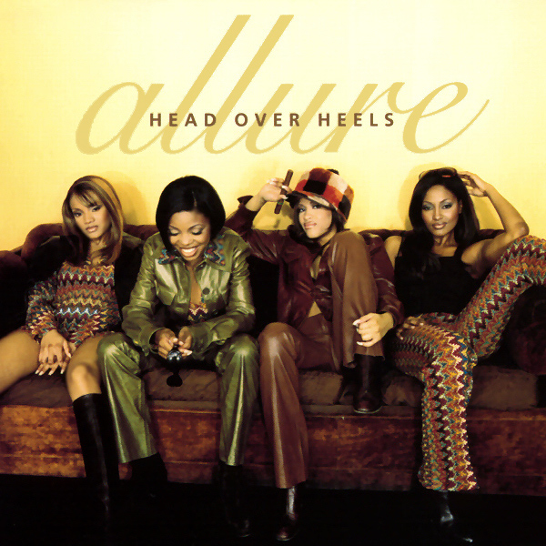 Original Cover Artwork of Allure Head Over Heels