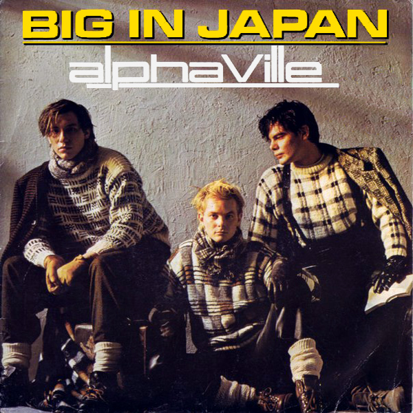 Original Cover Artwork of Alphaville Big In Japan