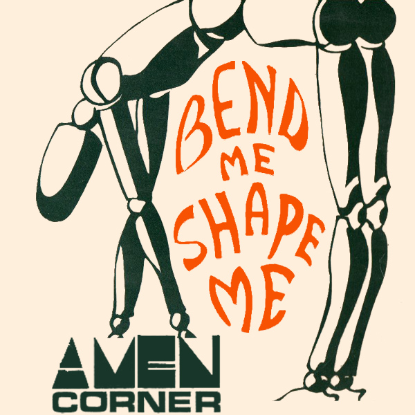 Original Cover Artwork of Amen Corner Bend Me Shape M