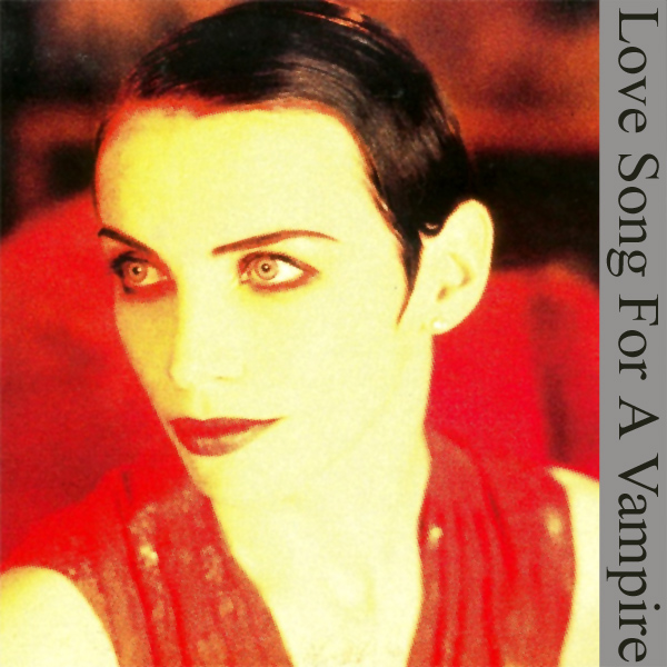 Original Cover Artwork of Annie Lennox Love Song Vampire