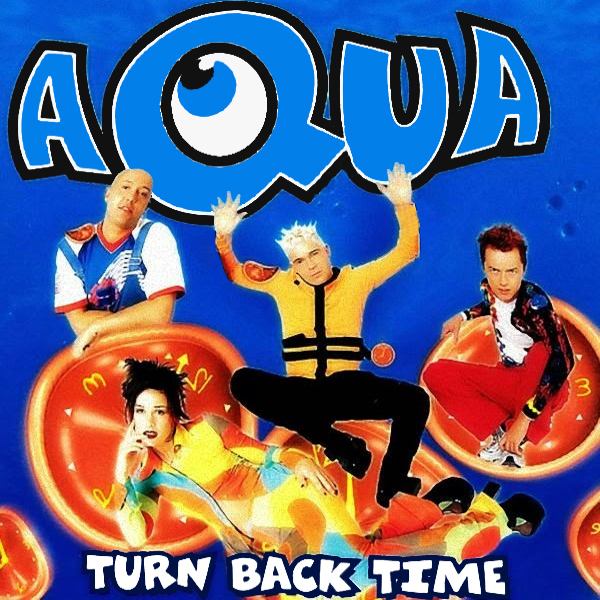 Original Cover Artwork of Aqua Turn Back Time