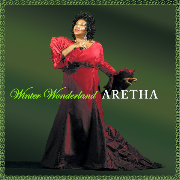 Original Cover Artwork of Aretha Winter Wonderland