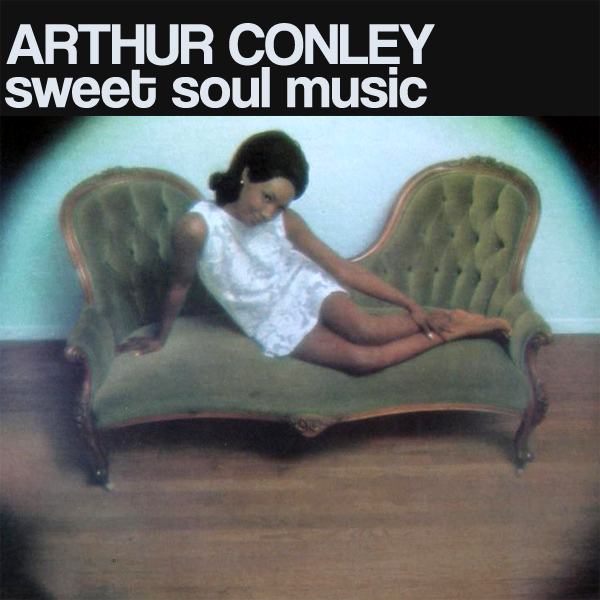 Original Cover Artwork of Arthur Conley Sweet Soul Music