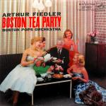 Original Cover Artwork of Arthur Fiedler Boston Tea Party