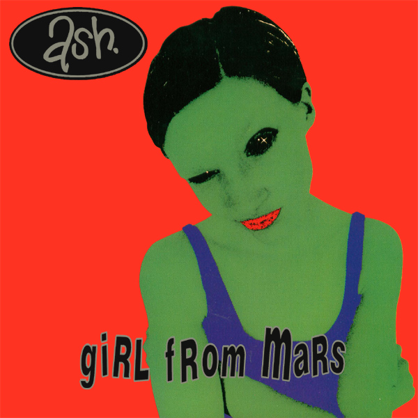 Original Cover Artwork of Ash Girl From Mars