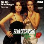 Original Cover Artwork of Baccara Yes Sir