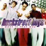 Original Cover Artwork of Backstreet Boys I Want It That Way