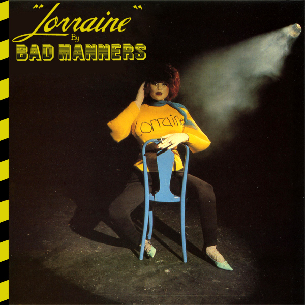 Original Cover Artwork of Bad Manners Lorraine