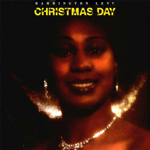 Original Cover Artwork of Barrington Levy Christmas Day