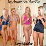Cover Artwork Remix of Barry Manilow Just Another New Years Eve