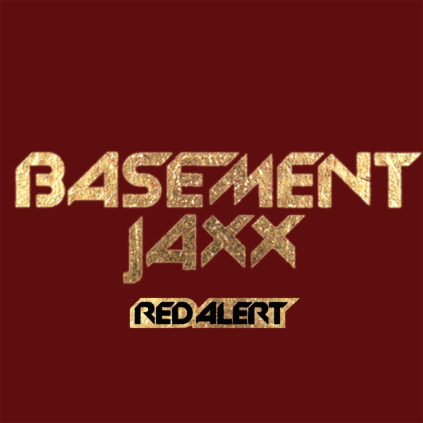 Original Cover Artwork of Basement Jaxx Red Alert