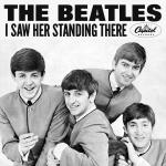 Original Cover Artwork of Beatles I Saw Her Standing There