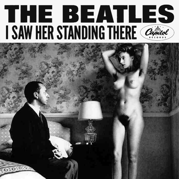 beatles i saw her standing there remix