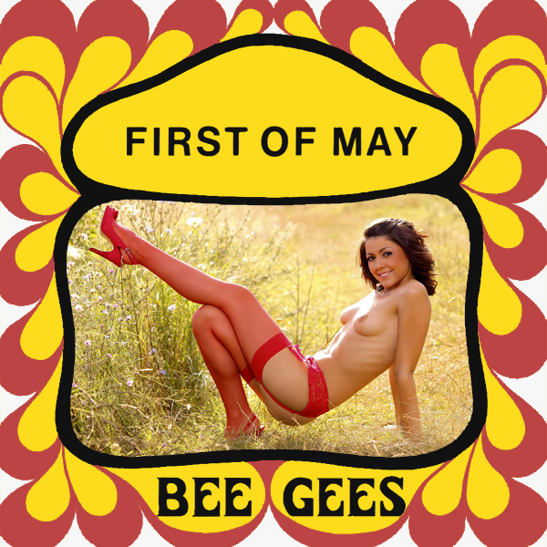 bee gees first of may remix