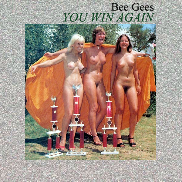 Cover Artwork Remix of Bee Gees You Win Again