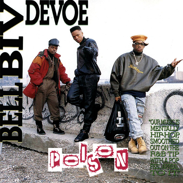 Original Cover Artwork of Bell Biv Devoe Poison