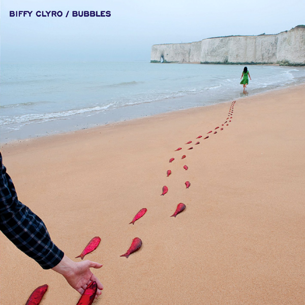 Original Cover Artwork of Biffy Clyro Bubbles