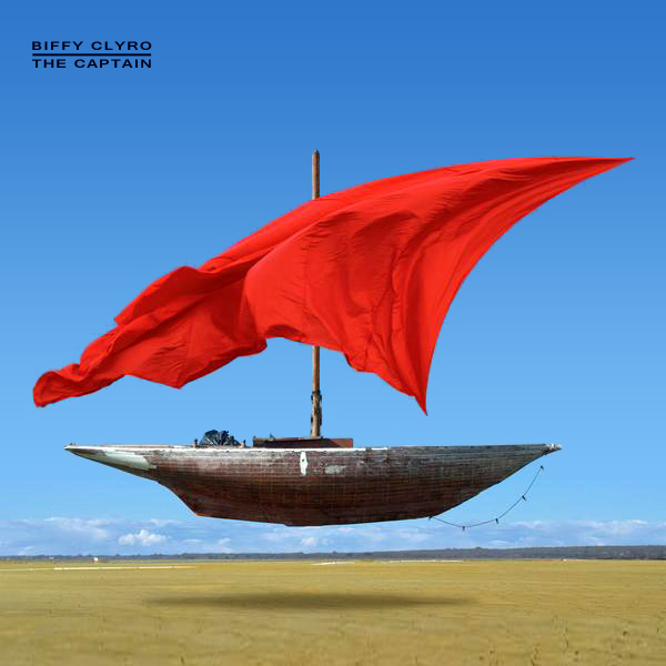 Original Cover Artwork of Biffy Clyro The Captain