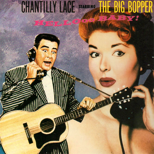 Original Cover Artwork of Big Bopper Chantilly Lace