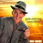 Original Cover Artwork of Bing Crosby You Are My Sunshine