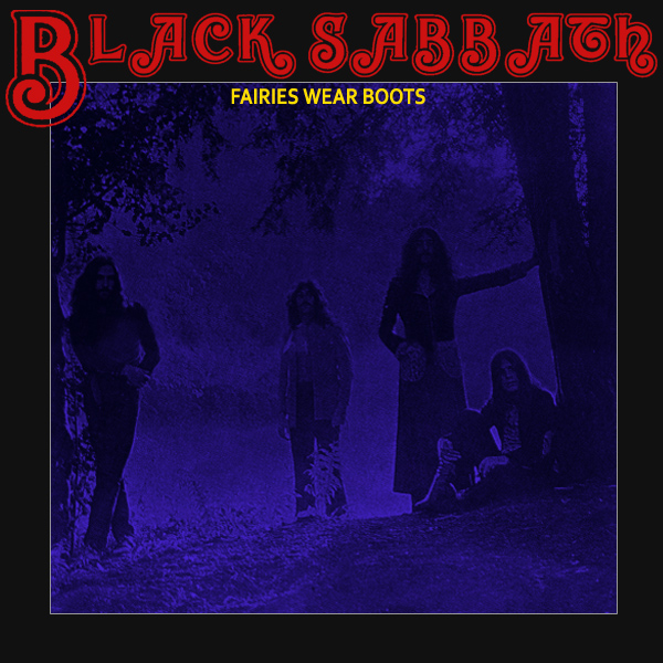 Original Cover Artwork of Black Sabbath Faeries Wear Boots