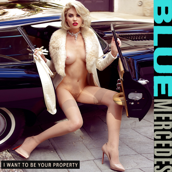 blue mercedes i want to be your property remix