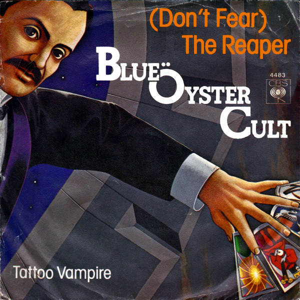 Original Cover Artwork of Blue Oyster Cult Dont Fear The Reaper