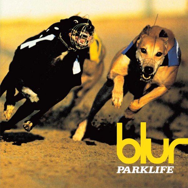 Original Cover Artwork of Blur Parklife Album