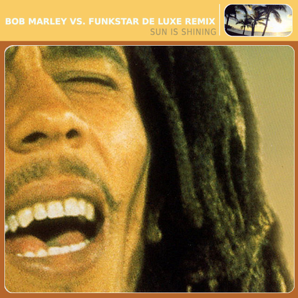 Original Cover Artwork of Bob Marley Funkstar Sun Shi