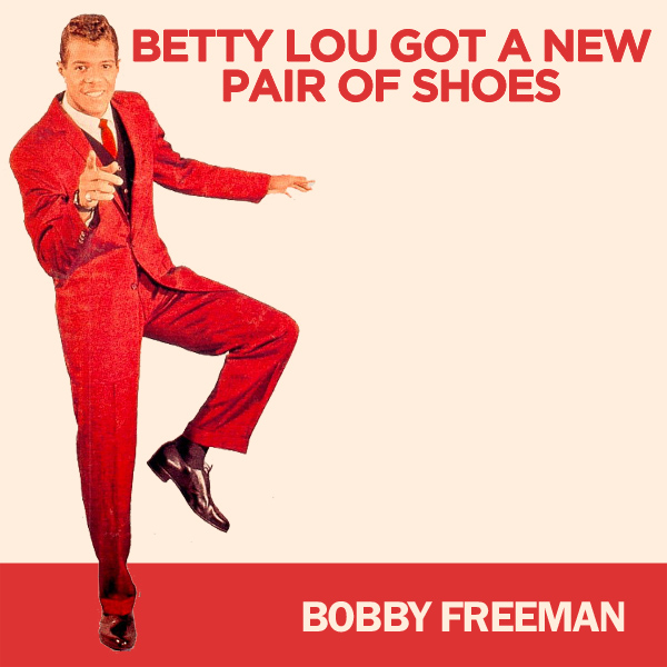 Original Cover Artwork of Bobby Freeman Betty Lou Got A New Pair Of Shoes