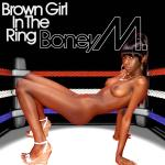 Cover Artwork Remix of Boney M Brown Girl In The Ring