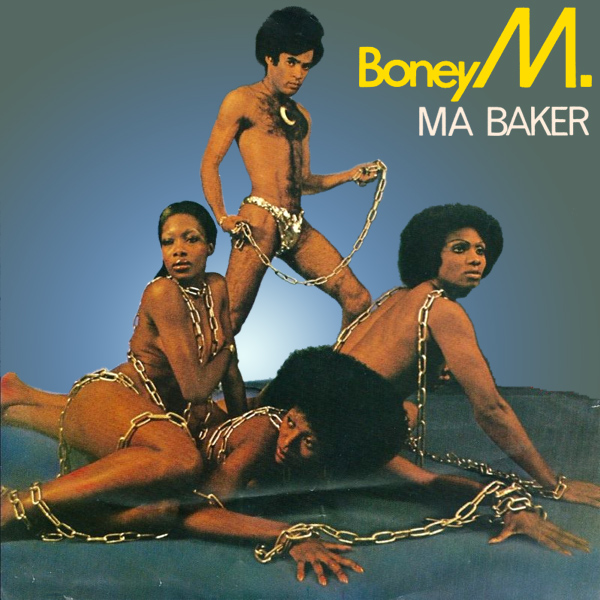 Original Cover Artwork of Boney M Ma Baker