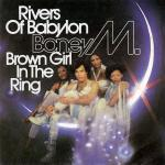 Original Cover Artwork of Boney M Rivers Of Babylon Brown Girl In The Ring
