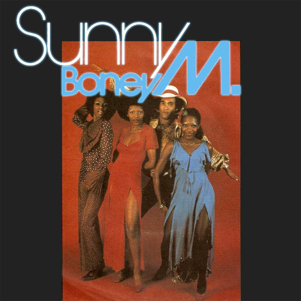 Original Cover Artwork of Boney M Sunny